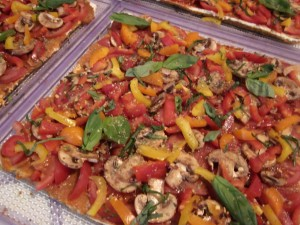 Pizzas from dehydrator