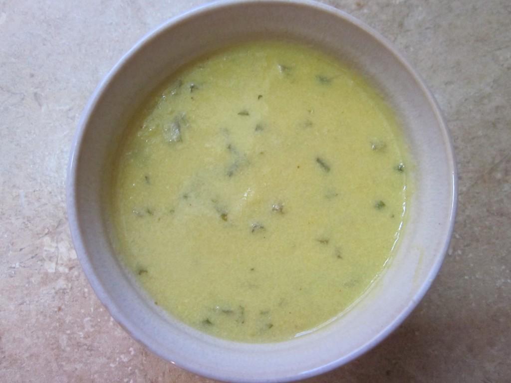 Corn Chowder in pot