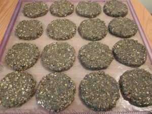 Hippie Hemp Cookies on tray