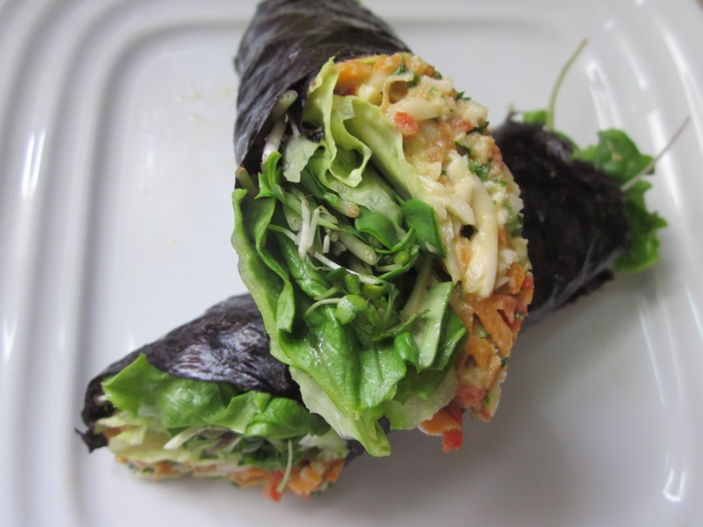 vegetable nori rolls