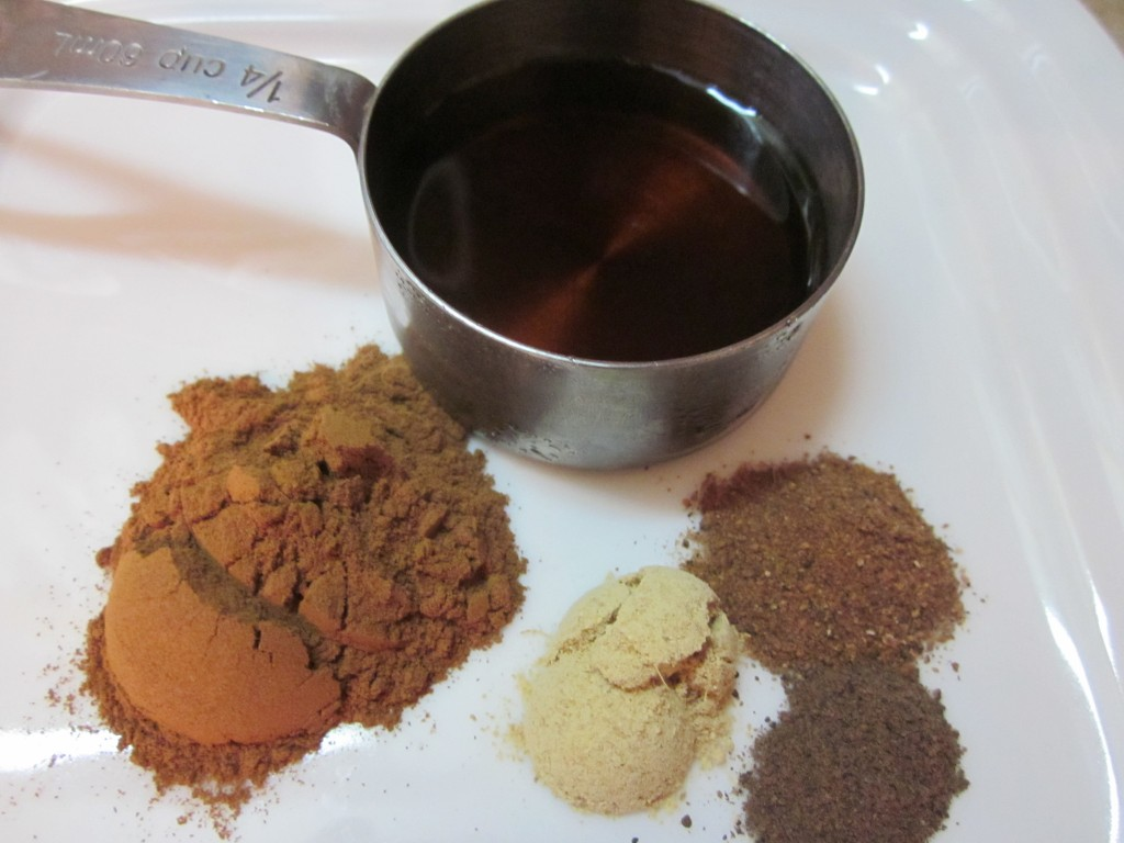 Cranberry Walnut Rice Stuffed Squash ingredients