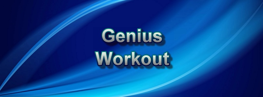 Genius Workout title