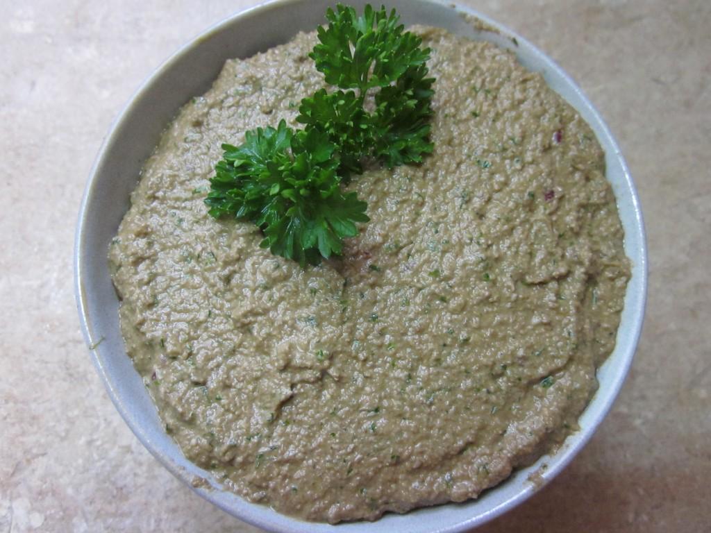Mushroom Sunflower Seed Pate