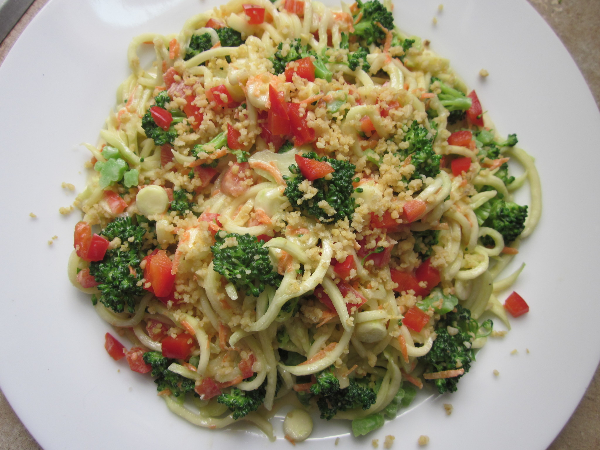 Turkey Pasta Primavera Recipe — Dishmaps