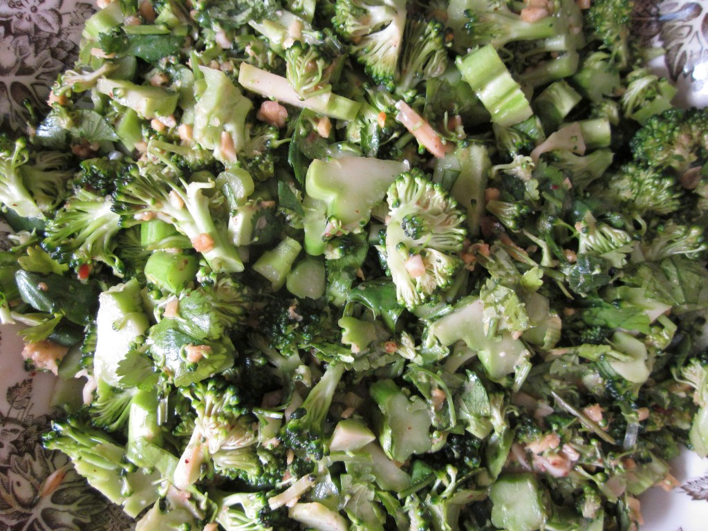 Thai Marinated Broccoli