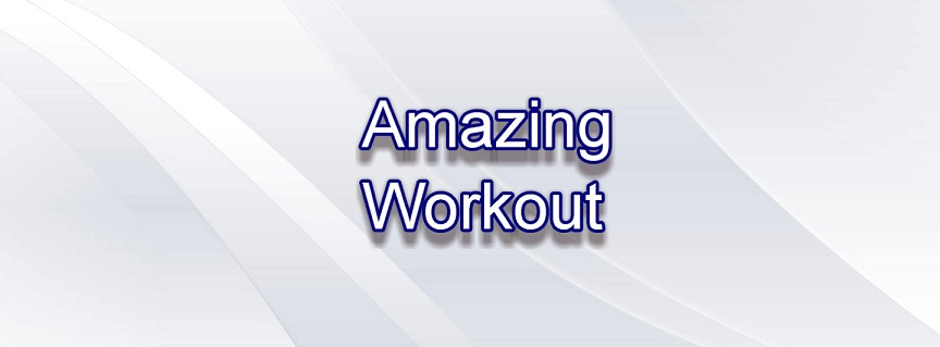 Amazing 4 Minute Workout title
