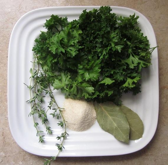 Creamy Leek Soup Recipe seasoning ingredients