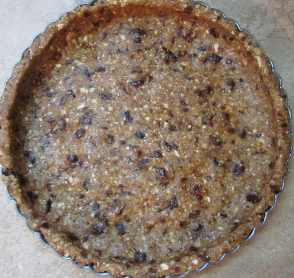 Date and Nut Pie Crust