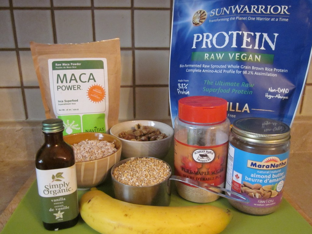 Golden Protein Cookies ingredients