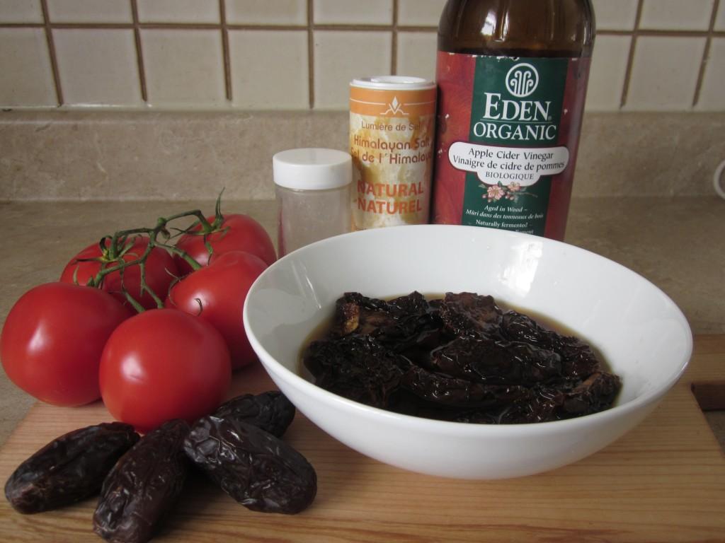 Ketchup Recipe ingredients