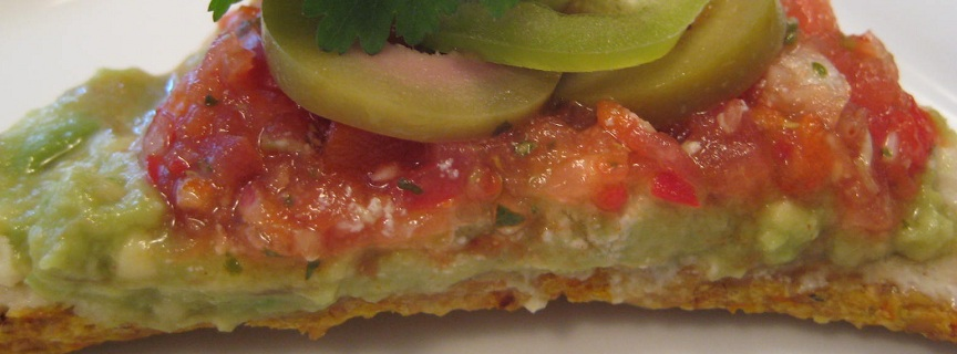 corn chipa with toppings 1