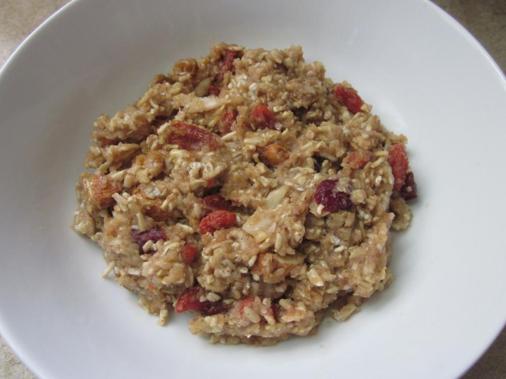 Apple Cinnamon Oatmeal - Healthy Breakfast Recipe in bowl