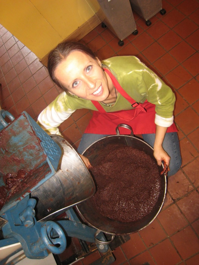 Chocolate making at ChocoSol