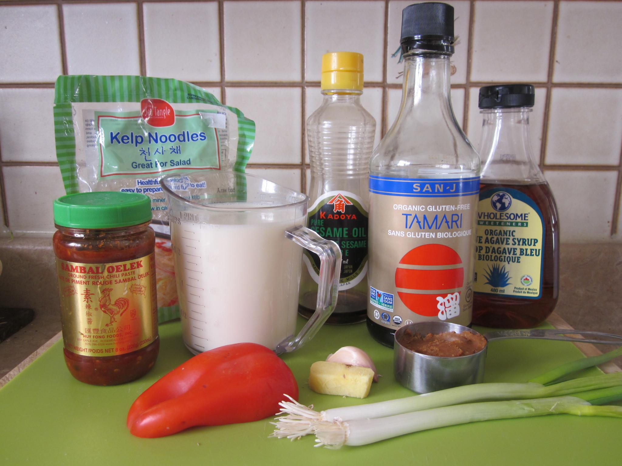 creamy miso noodle soup reciperobins key