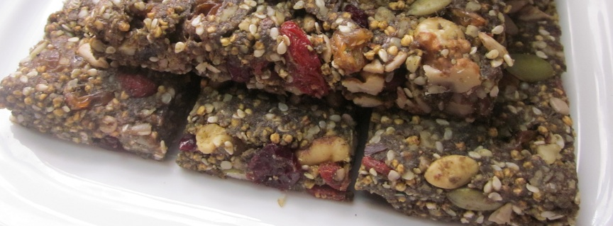 Hemp Protein Fruit Nut and Seed Bar Recipe  crop