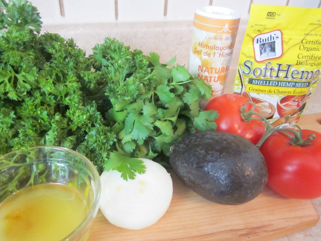Tabouli Recipe ingredients