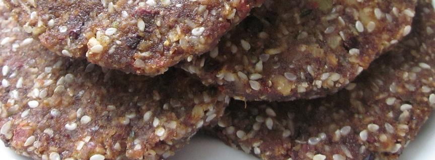 7 Days Eating Raw Plan - rawkalicious cookies