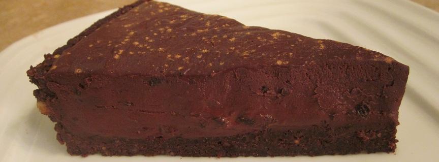 black forest raw chocolate ganache tart valentine cake recipe