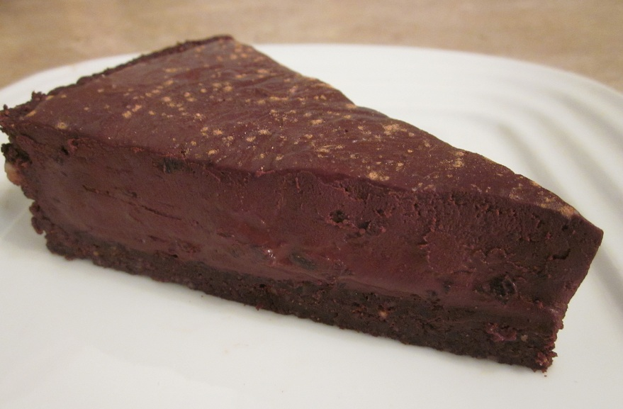 Black Forest Raw Chocolate Ganache Tart with Brownie Crust ...
