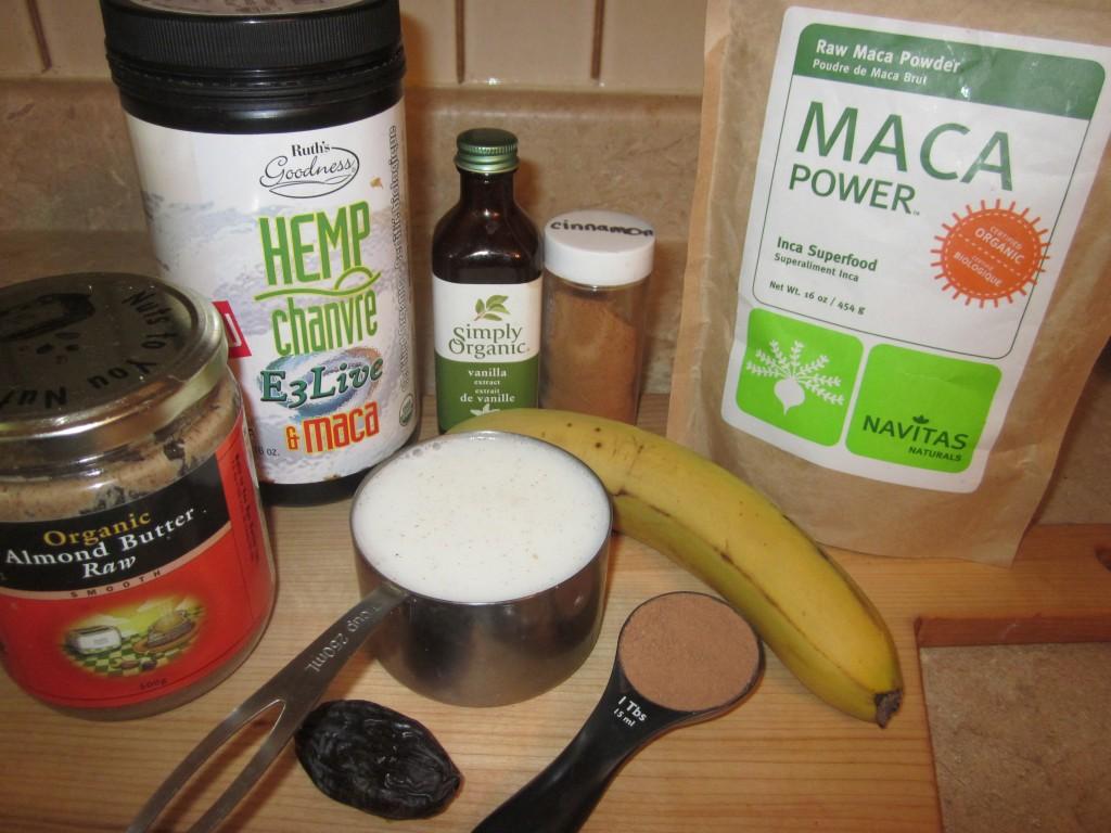 Vegan Protein Shakes - Creamy Cacao Hemp Protein Shake ingredients