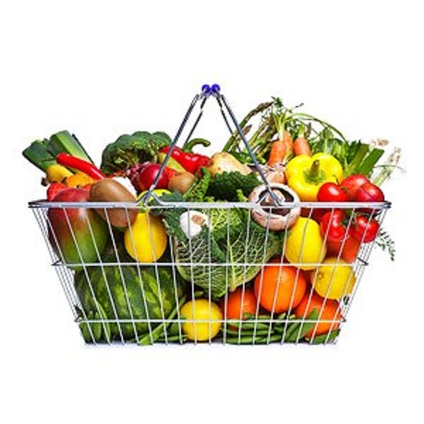 Eating Raw Foods –  Raw Diet basket of raw foods
