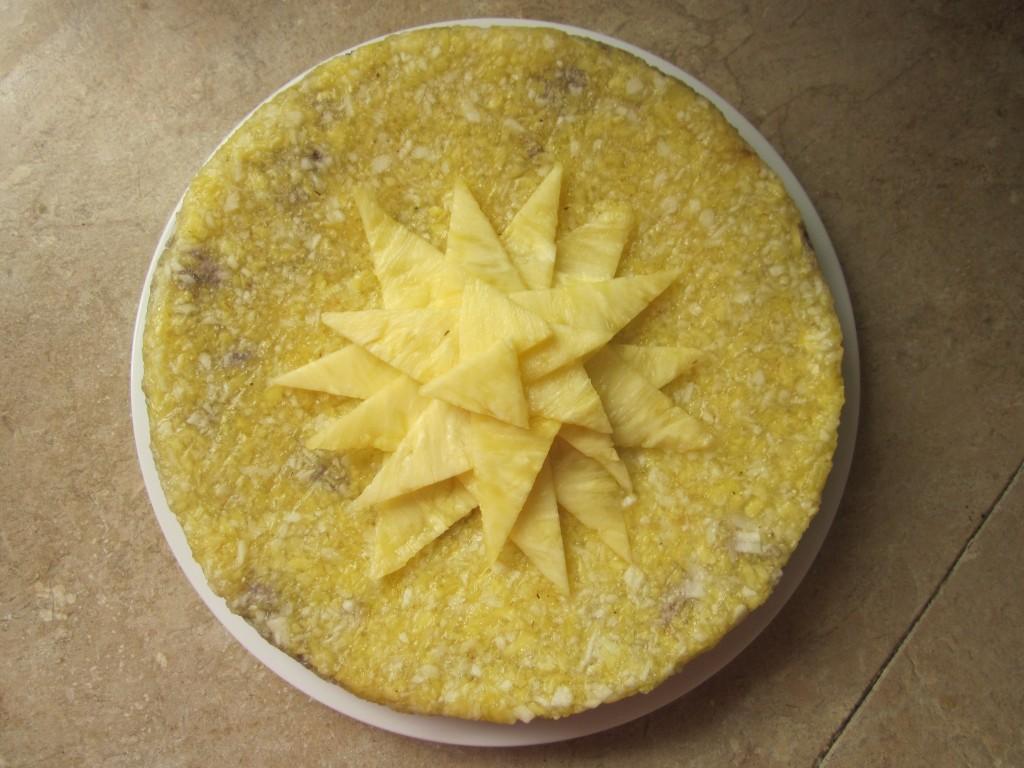 Pineapple Apple Upside Down Cake Recipe