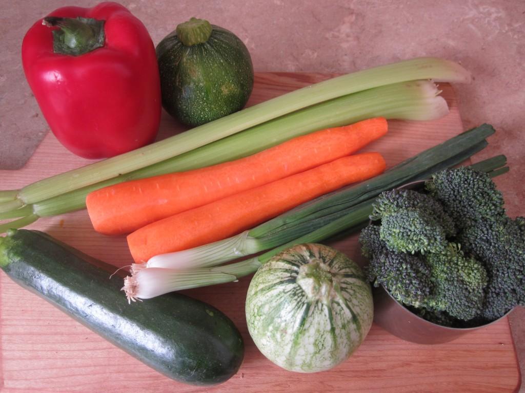Vegetables in Ginger Tamarind Sauce Recipe  -  vegetables