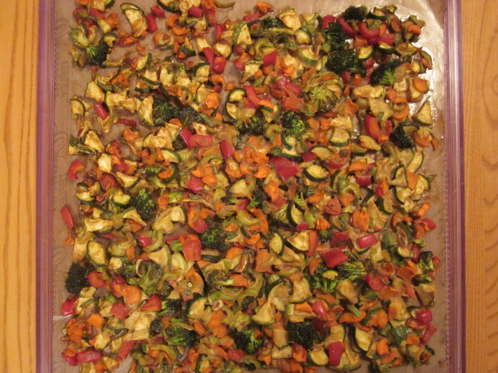 Vegetables in Ginger Tamarind Sauce Recipe -  vegetables dehydrated