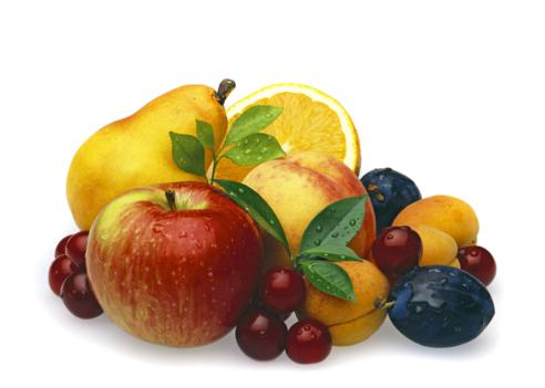 7 Days Eating Raw Foods Plan Multi Fruits with Cherrys