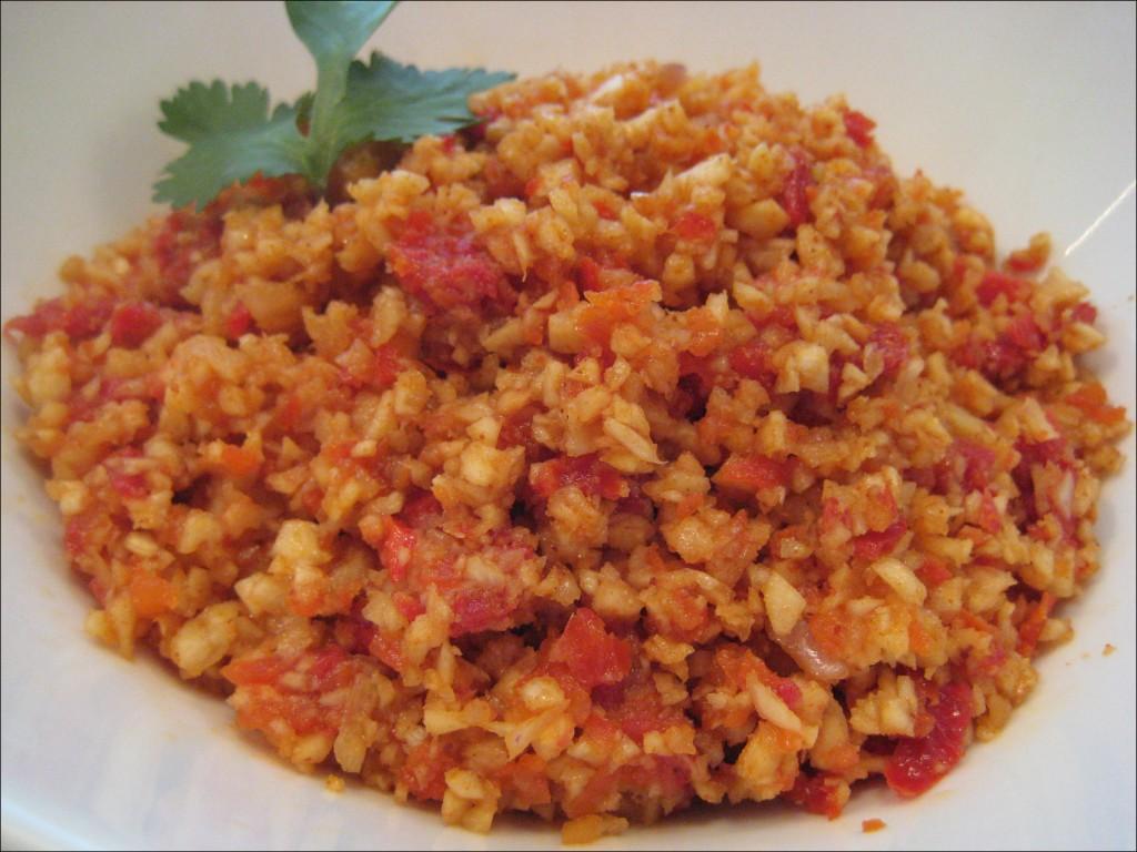 Mexican Raw Rice Recipe