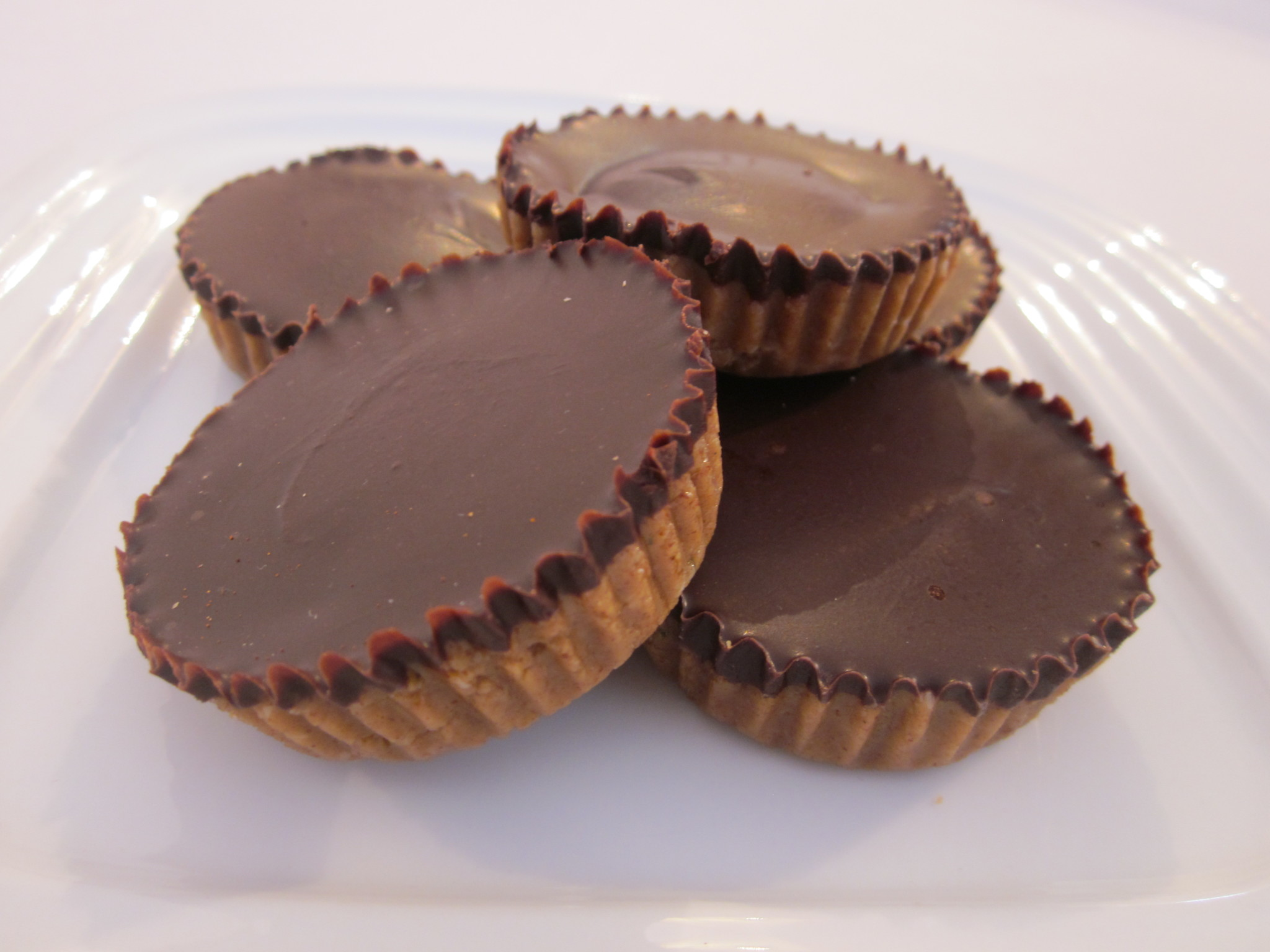 Awesome Protein Peanut Butter Cups Recipe, without the Peanuts