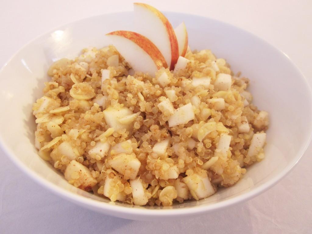 Apple Cinnamon Quinoa Porridge Recipe