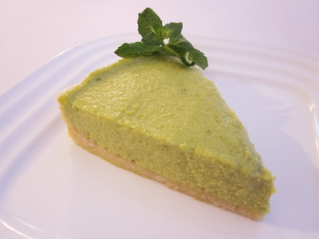 Delicious No Bake Key Lime Pie Recipe - slice on a plate