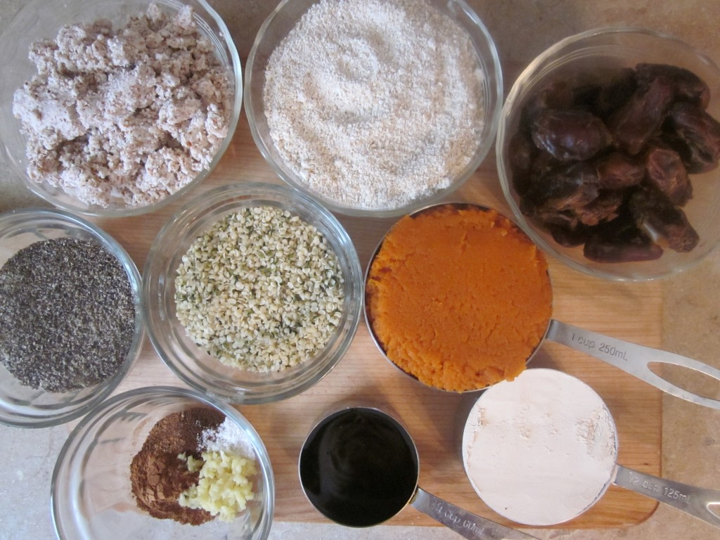 Protein Pumpkin Ginger Cookies Recipe - ingredients