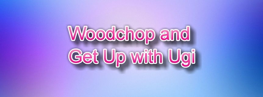 Woodchop and Get Up with Ugi exercise