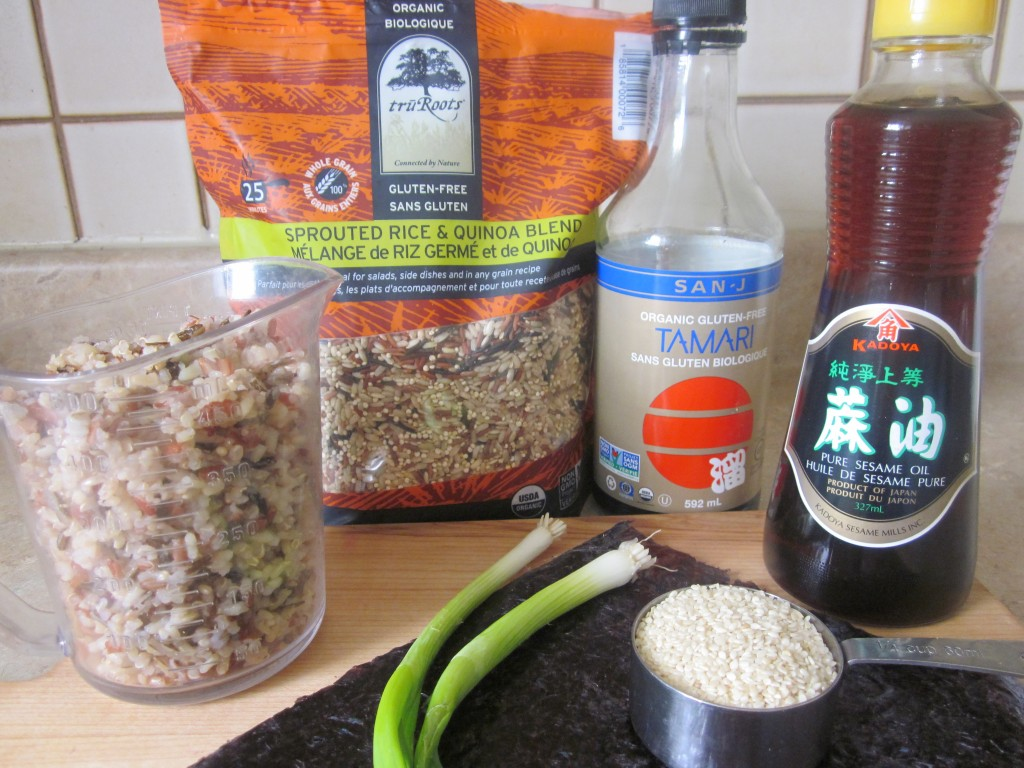 Brown Rice and Quinoa with Nori and Sesame Recipe