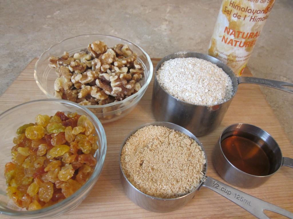Luscious Vegan Lemon Squares Recipe - base ingredients