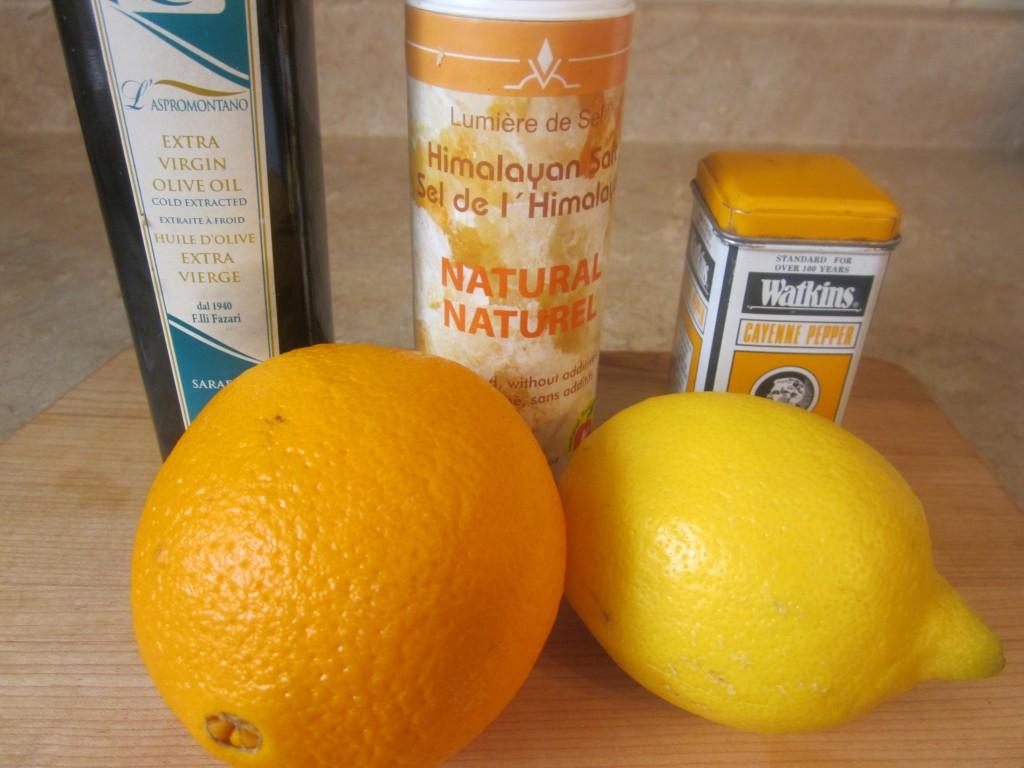 Mango Berry Avocado Salad Recipe with a Light Citrus Dressing dessing ingredients