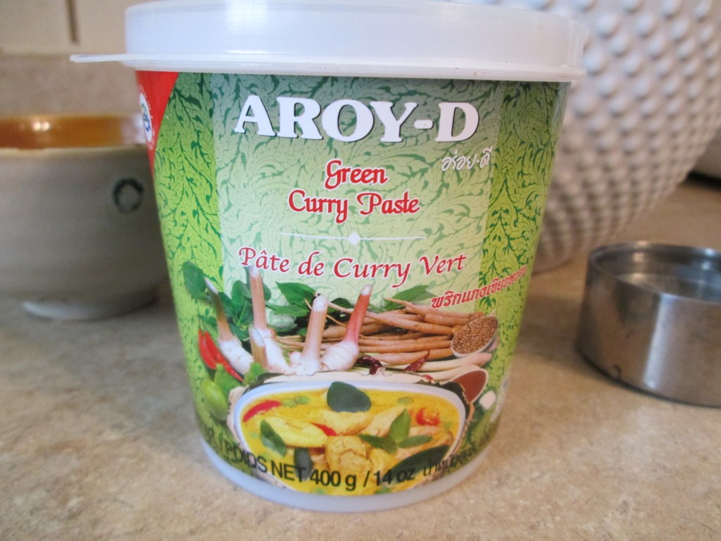 Green Curry Kale Chips - aroy-d green curry