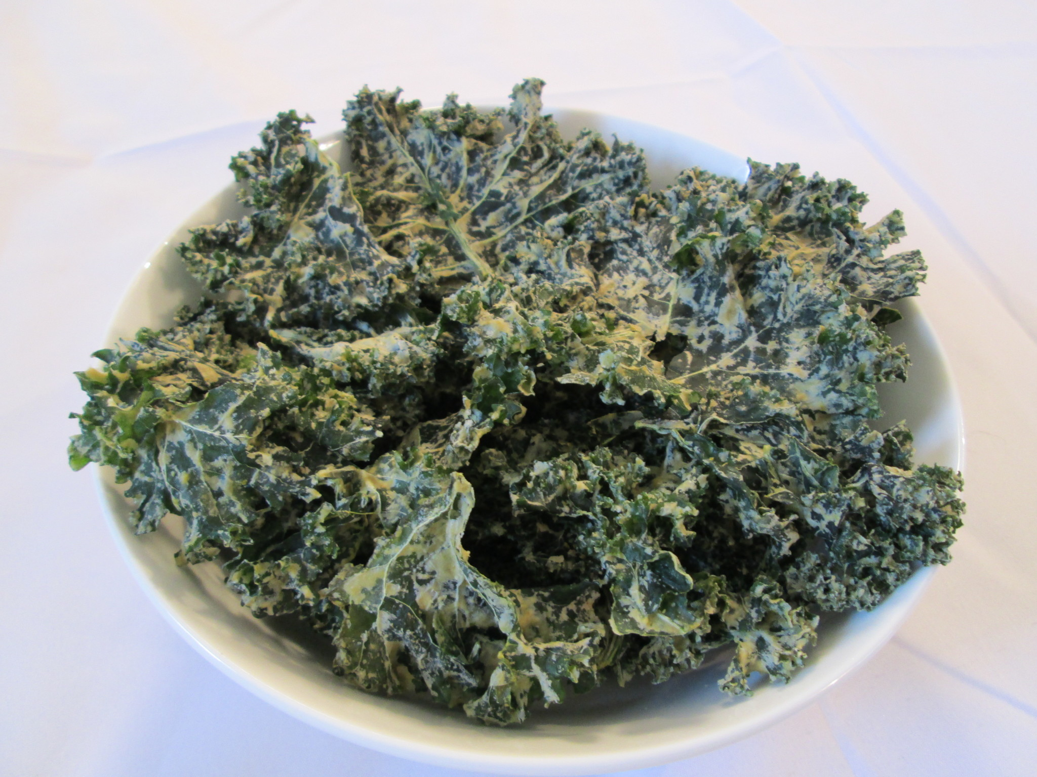 Green Curry Kale Chips