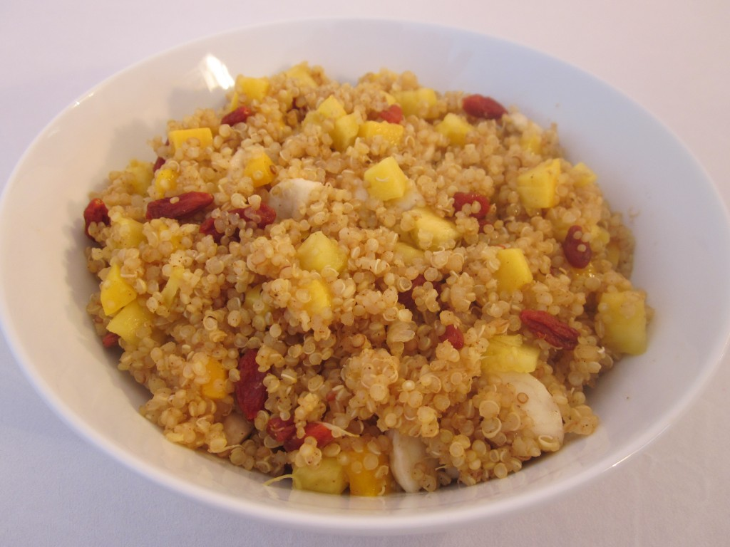 Tropical Sunshine Quinoa Cereal RecipeRobins Key