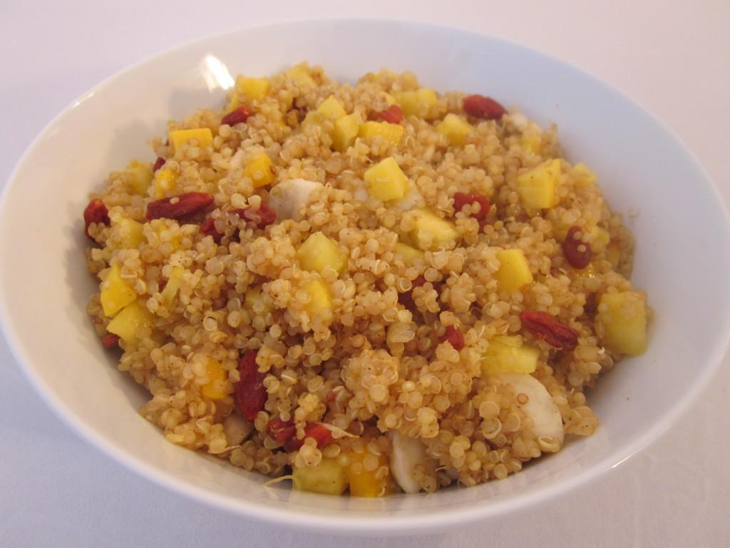 Tropical Sunshine Quinoa Cereal Recipe
