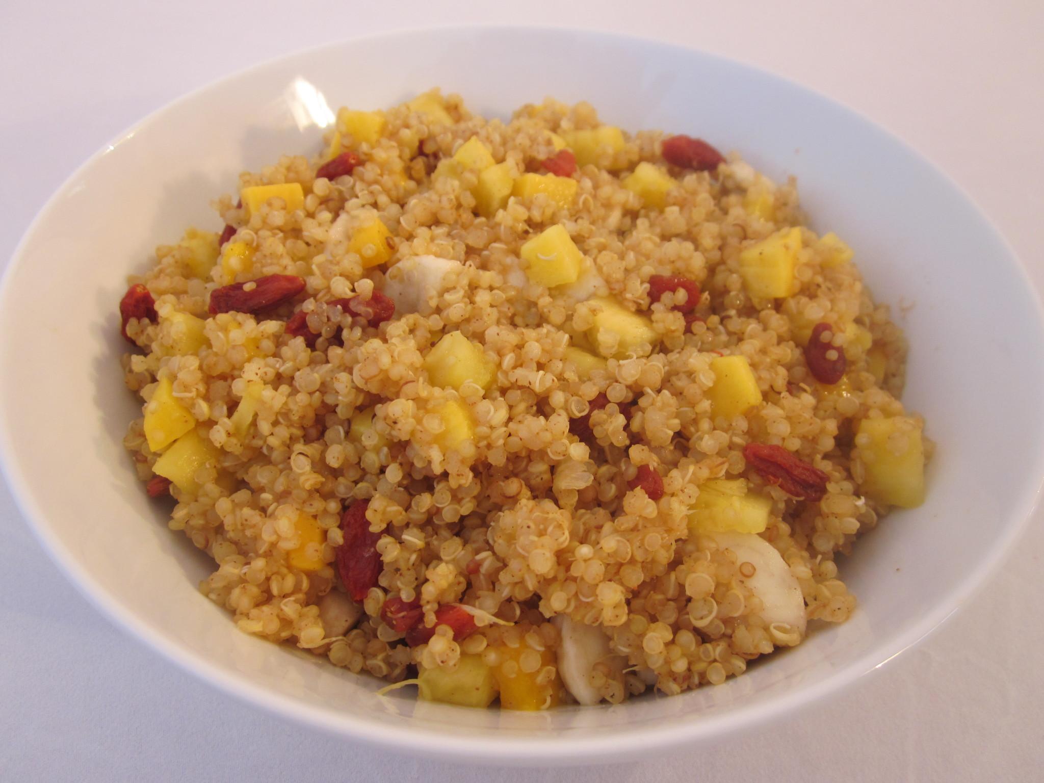 Tropical Sunshine Quinoa Cereal RecipeRobins Key