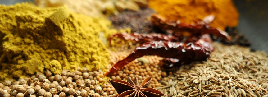 Different types of curries - Spices for curry powder