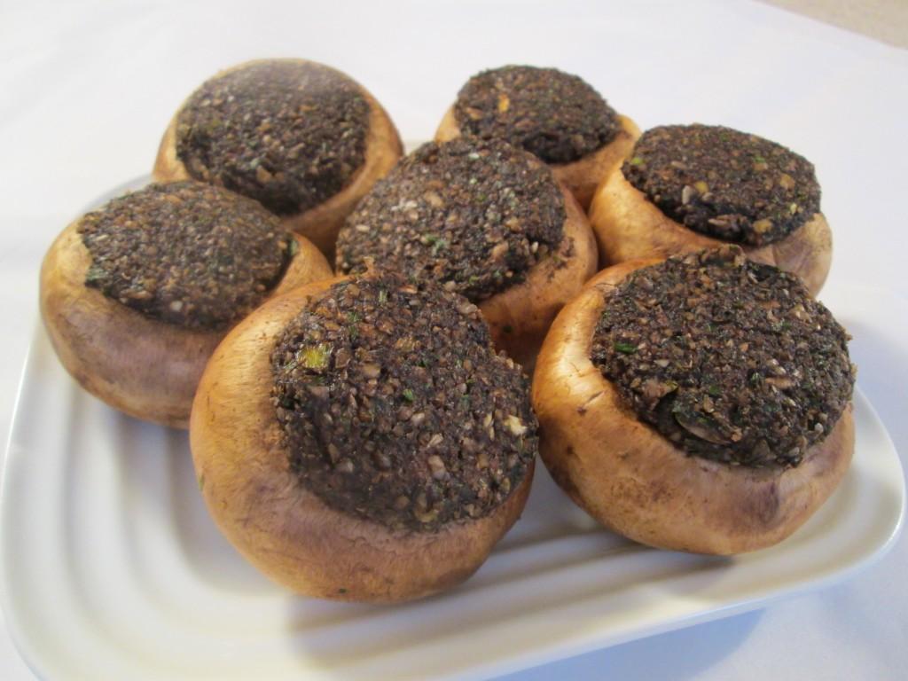 Dehydrated Stuffed Mushroom Caps Recipe