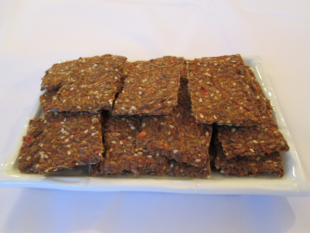 Dragon Flax Crackers Recipe