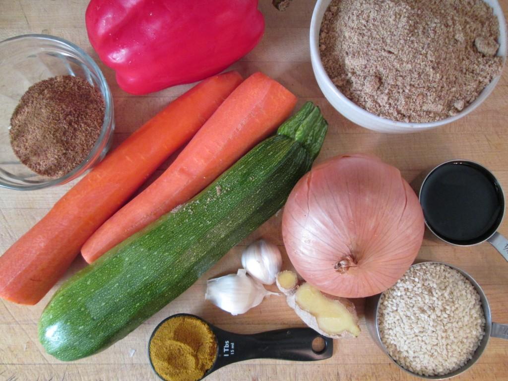 Dragon Flax Crackers Recipe - ingredients