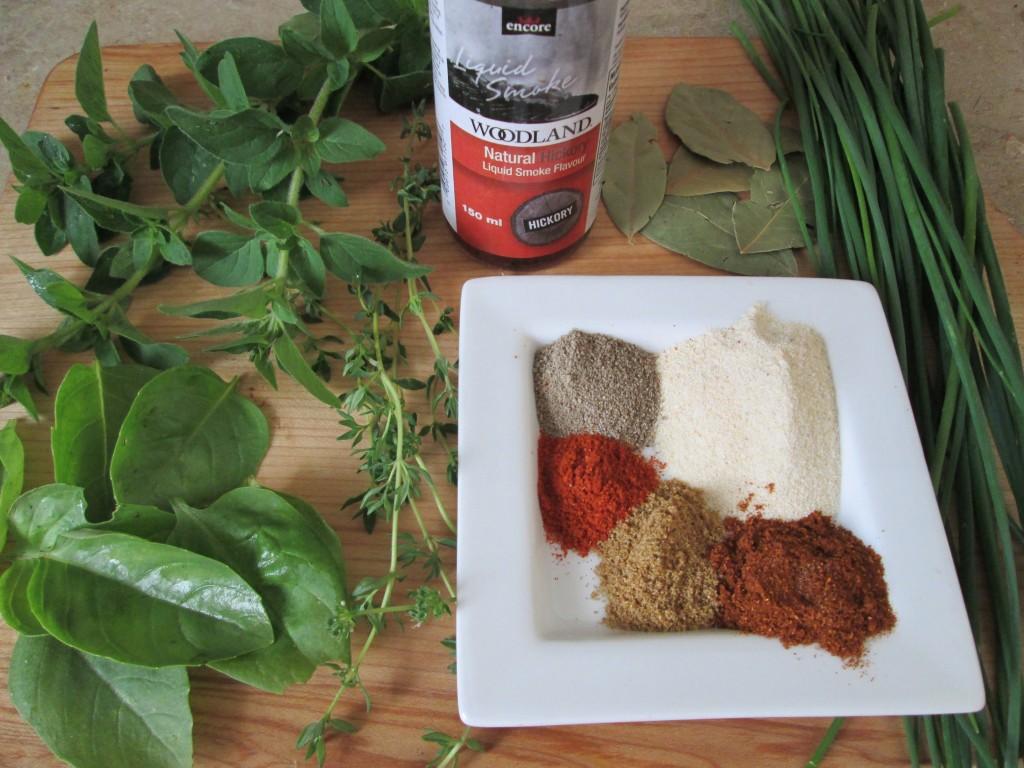 Hearty Vegan Gumbo Soup Recipe - seasonings