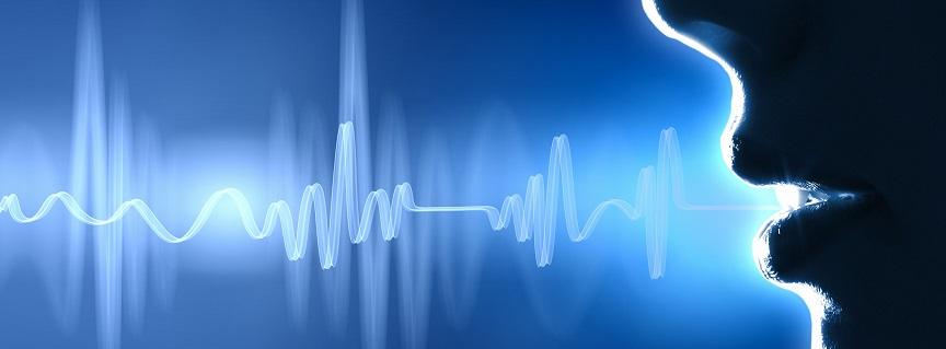 subliminal audio messages - voice sound waves