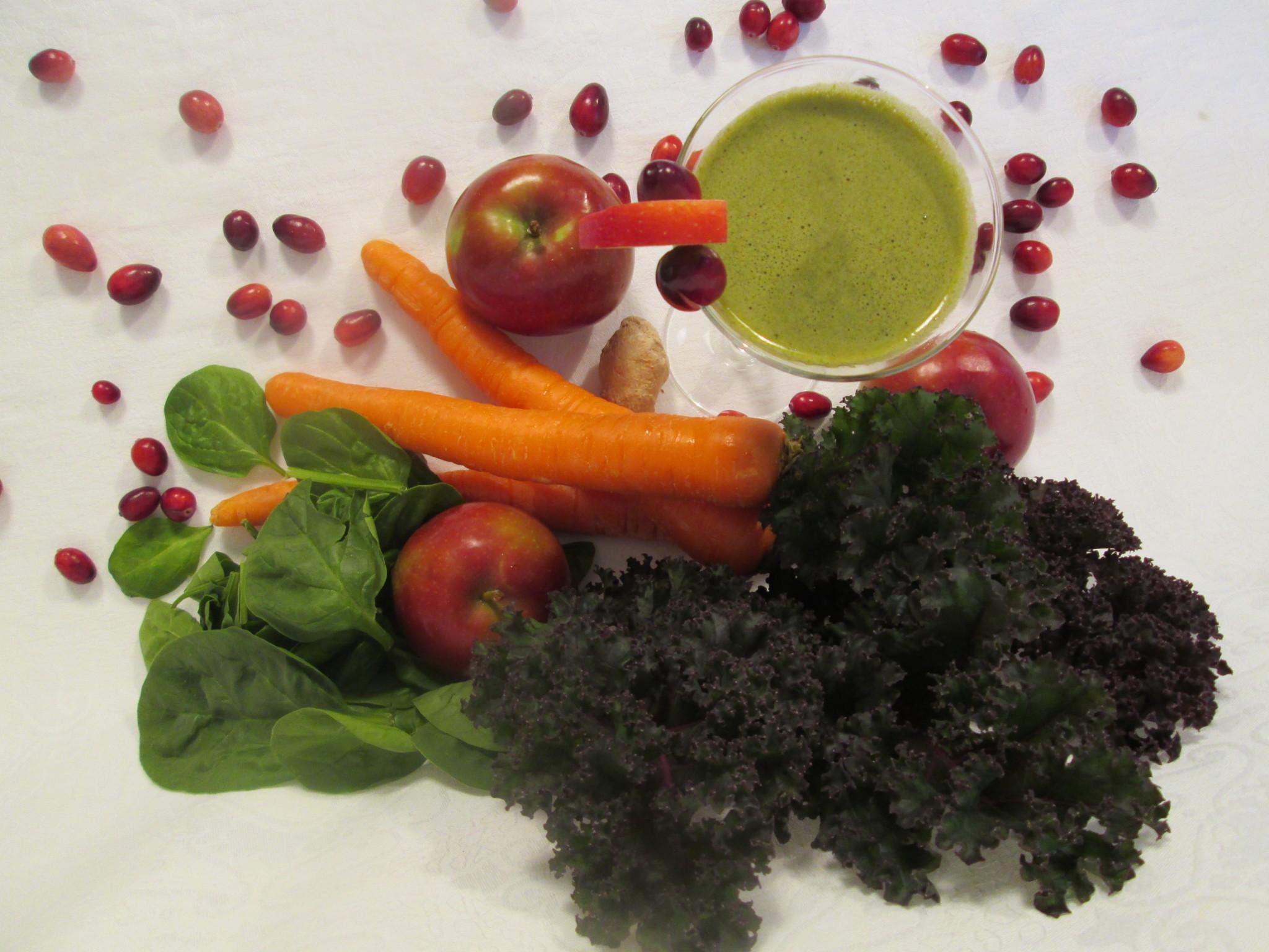 Morning Buzz Green Juice Recipe